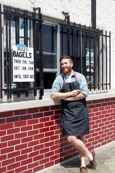 My Favorite Knife: Bagel Baker Nick Schreiber  20 Cooks 20 Knives