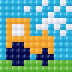 #tractor #pixelhobby #pixelgift