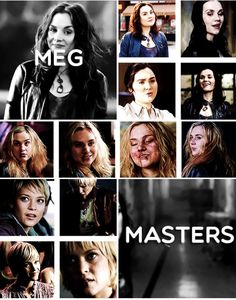 Supernatural Birthday Party: Rachel Miner As Meg Masters ...