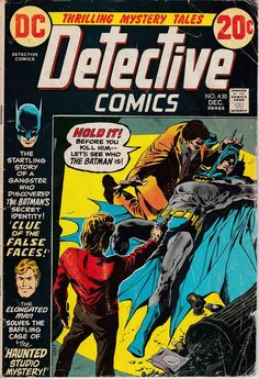 Detective Comics #430  (1937 1st Series) - December 1972 - DC Comics - Grade VG