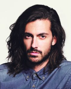 Hairstyles For Long Hair Men messy hipster men hair long modern hipster mens hairstyles long straight Find This Pin And More On Long Hair Guys By Richbrbss