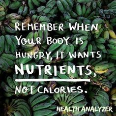 #ILoveMyHealth Make the right choices for health & nutrition Empty calories lead to weight gain & poor health www.naturallynaturals.com