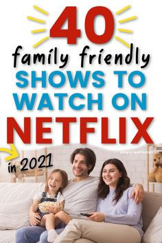 An awesome list of 40 family shows to watch with your kids on Netflix. Good, clean series you can enjoy as a family. Kid-friendly shows on Netflix that adults will enjoy too. The best Netflix shows for families to watch in 2021. Netflix Movies For Kids, Shows On Netflix, Family Movie Night, Family Movies, Family Schedule, Unbreakable Kimmy Schmidt, Magic School Bus, The Worst Witch, Minute To Win It