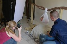 Great pullbacks for newborn pictures by salior girl