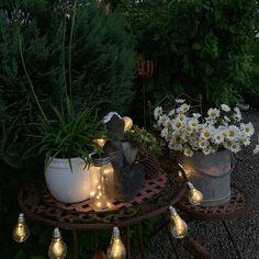 Instagram Fountain, Lighting, Garden, Outdoor Decor, Instagram, Home Decor, Decoration Home, Light Fixtures, Room Decor