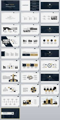 PowerPoint Template Item Details: templates Video: Features: 2018 Best business PowerPoint templates Easy and fully editable in powerpoint (shape color, size, position, etc). PPT & pptx files for Ratio. Ppt Design, Design Powerpoint Templates, Layout Design, Template Web, Keynote Design, Professional Powerpoint Templates, Slide Design, Keynote Template, Flyer Template