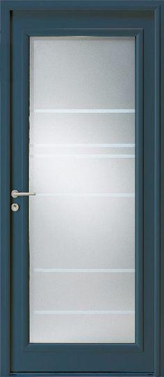 Porte du0027entrée aluminium ALICIA - Porte aluminium design ZILTEN