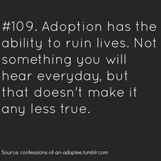 Confessions of an Adoptee