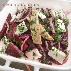 Ensalada de remolacha y atún » Divina CocinaRecetas fáciles, cocina andaluza y del mundo. » Divina Cocina