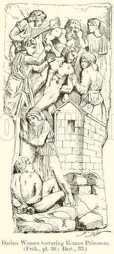 Dacian women torturing Roman prisoners,illustration from Traian's Column,Rome,Italy Transylvania Romania, First Humans, Ancient Civilizations, Rome Italy, Folklore, Mythology, Weapons, Empire, Old Things