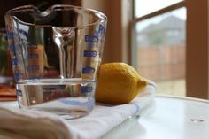 lemon microwave | 26 Clever Cleaning Tips You'll Love