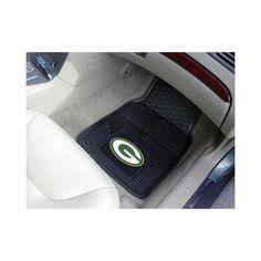 Green Bay #Packers Vinyl Car Mat Set. Click to order! - $39.99