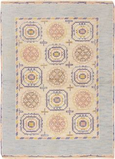 Marta Maas Swedish pile rug : Lot 115