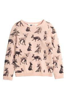 Finomkötött pulóver | H&M
