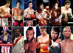 The franchise includes six movies, one boxer, and dozens of great actors. The cast of 'Rocky': Where Are They Now? Rocky Series, Rocky Film, Rocky 3, Rocky 1976, Rocky Road, Rocky Balboa, Sylvester Stallone, Apollo Creed, Rambo