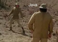 C++ Vs Java (hilarious Gif) - Programming - Nigeria