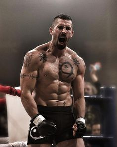 MMA artist and actor, Scott Adkins shirtless body. Mma, Scott Adkins, Poses References, Martial Artist, Tough Guy, Action Poses, Dojo, Mixed Martial Arts, Fitness Man