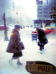 Saul Leiter (Snow, 1960)