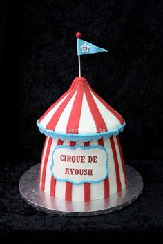 circus cake baked goods Pinterest Circus cakes Cake and