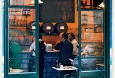 Palmira, the matriarch of La Cova Fumada, a tapas restaurant in Barceloneta (From: 5 Secret Restaurants in Barcelona)