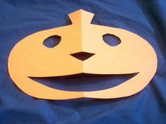 A Halloween storytelling activity that kids love! You make small cuts to go with the story and at the end -- surprise! A Jack-o-lantern!