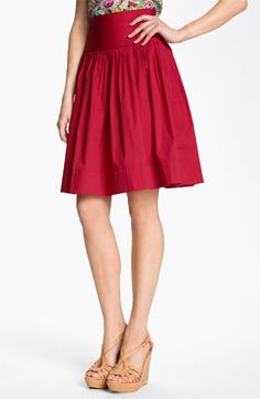 Nanette Lepore 'Summerland' Skirt | Nordstrom (love, love the color - and style even though it doesn't work for my body shape)