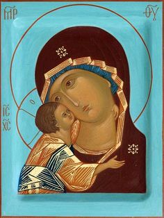 Mother of God 14×19 cm, To order. Catalog of St. Elisabeth Convent #icon…
