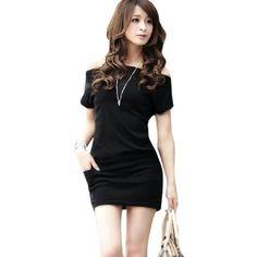 Allegra K Lady Boat Neck Dolman Sleeve Pockets Detail Casual Mini Dress Black S Allegra K,http://www.amazon.com/dp/B008BHHY6M/ref=cm_sw_r_pi_dp_lK10rb0DB841DC6P