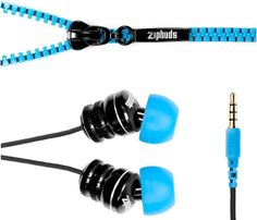 Don't you hate it when your earphone wires get all tangled up when you pull them out from your bag or your pockets? Don't you wish that they will come up with earphones with tangle-free cords that you can use right away instead of wasting eons untangling the wires? Your wish has been granted and Zipbuds are the solution.