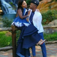 "Botswana Weddings🇧🇼 on Instagram: ""Mines 💙💙💙 • @traditionalafricanweddings Traditional wedding inspiration ! Lefentse &Shadi's wedding! @fencyboy10 @em_shadi Outfits…"" African Wedding Attire, African Traditional Wedding, Perfect For Me, Pattern Fashion, Big Day, Things To Come, Wedding Inspiration, Bridesmaid, Gowns"