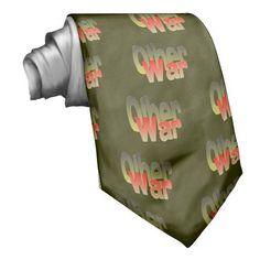 other war custom tie