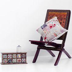 Decorative Vintage Throw pillow Handmade by CraftAuraHome on Etsy, $14.99