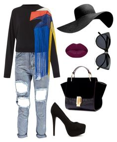 bfsjvv by kata-szabo on Polyvore featuring polyvore fashion style Christopher Kane Nly Shoes Le Specs Winky Lux clothing
