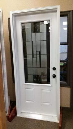 Modern Style Door with Insert