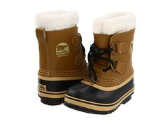 How to keep your kids feet dry and warm during the winter. Sorel boots for kids
