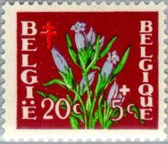 Stamp: Flowers (Belgium) (Flowers) Mi:BE 876,Sn:BE B485,Yt:BE 834,AFA:BE 897,Bel:BE 834