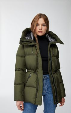 Puffer Jackets, Winter Jackets, Jacket Images, Parka, Winter Fashion, Summer Outfits, Leather Jacket, Casual, Clothes