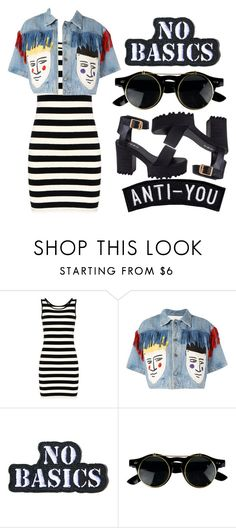 """No basics"" by april-diamond ❤ liked on Polyvore featuring JC de Castelbajac and Hollywood Mirror"