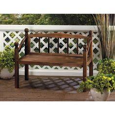 Richmond Wooden Brown Wood Plant Bench