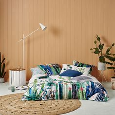 Home Republic - Cactus Garden Quilt Cover Set - Bedroom Quilt Covers & Coverlets - Adairs Online