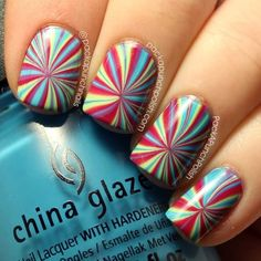 Do you like to get your nails done in a unique way? How about having a polish that is both colorful and psychedelic? Yes, there is such a thing out there a