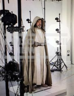 Luke Skywalker: the first look at his appearance in the Force Awakens