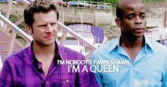 Gus is a queen....