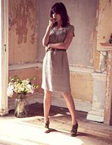 Silk dress. Charming