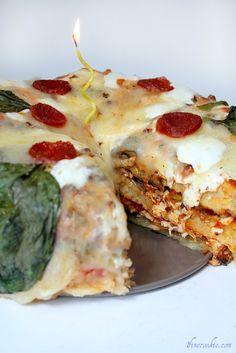 Homemade pizza cake #homemade #tomato #sauce #food #savory #pizza #cake #recipe #yum #fresh #scratch #how #to #make #home #made #basil #mozzarella #cheese #pepperoni #dough #sausage #mushrooms #vegetables #onions #dish #delicious #peppers