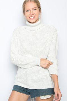 Brandy ♥ Melville | Isabeli Turtleneck Sweater - Clothing
