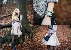 Http://Inlovewithfashion.Com/ Cardi, Oasis Skirt | Czech forest (by Valeriya Volkova) | LOOKBOOK.nu