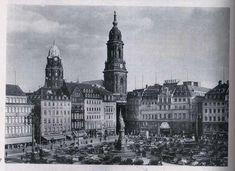 Dresdner Innenstadt um 1930 (mit Altmarkt)