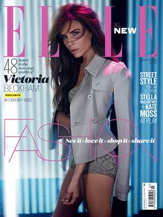 Victoria Beckham For Elle UK March 2013