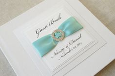 Wedding Guest Book Personalized Hollywood Design by HCTBDesigns
